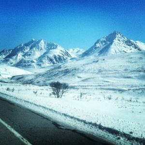 Almost at the Alaskan border